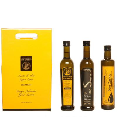 Pago Baldíos + Oro  San Carlos + San Carlos Gourmet.  500ML.